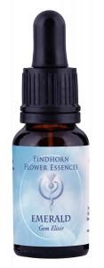 Emerald Findhorn Gem Elixir 15ml.